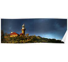 Barrenjoey Lighthouse at dusk Poster