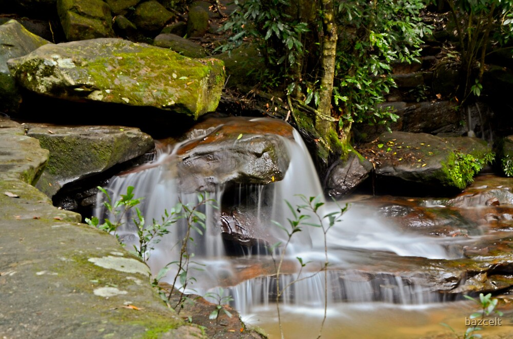 Washed Rock, Somersby Falls by bazcelt