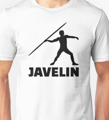 Javelin throw Unisex T-Shirt