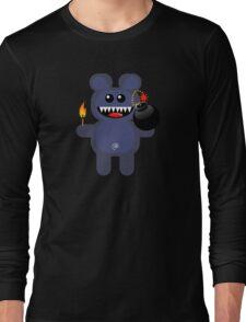 BEAR 4 (Cute pet has a bomb and its alight!) Long Sleeve T-Shirt