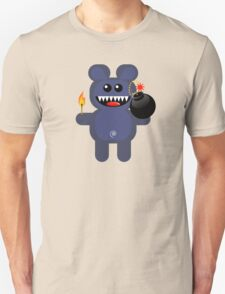 BEAR 4 (Cute pet has a bomb and its alight!) T-Shirt