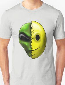 Shreaded Alien Smiley Face T-Shirt