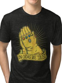 In Gems We Trust Tri-blend T-Shirt