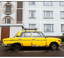 The Car in Pļavnieki, Rīga, Latvia. (2010) by Madeleine Marx-Bentley