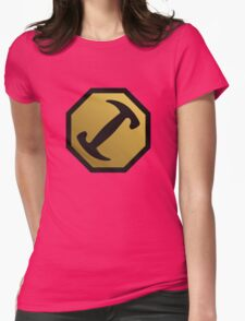 Stonecutters - BUMPER STICKER Womens Fitted T-Shirt