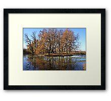 Winter on Lake Wendouree Framed Print