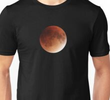 Blood Moon Super Moon Lunar Eclipse with Stars Unisex T-Shirt