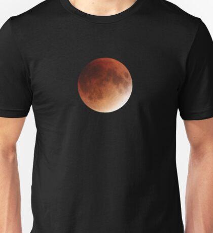 Blood Moon Super Moon Lunar Eclipse with Stars Unisex T-Shirt