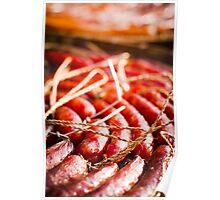 chinese sausage Poster