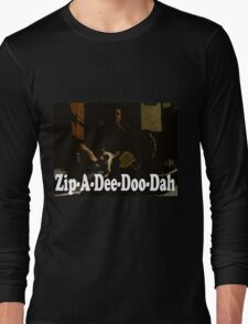 It's Monday Zip-A-Dee-Doo-Dah Long Sleeve T-Shirt