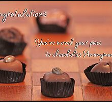 Chocoholics Anonymous Banner by Allison Millcock