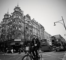 Oxford Street Racing by Eamon Fitzpatrick