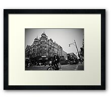 Oxford Street Racing Framed Print