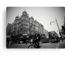Oxford Street Racing Canvas Print