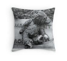 'The Sadness of Losing a Child' Throw Pillow