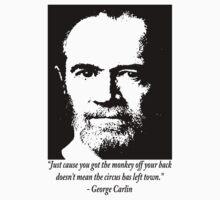 George Carlin by ☼Laughing Bones☾