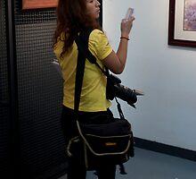 The Nikon Girl... by Rene Fuller