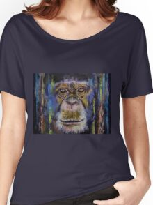 Chimpanzee Women's Relaxed Fit T-Shirt