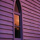 'Last Light on the Church Window' by Brien Bland