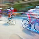 The Bicycle Race 01 by Brian Carson