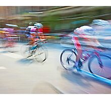 The Bicycle Race 01 Photographic Print