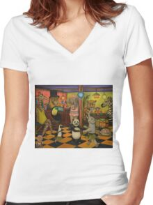 Zoobar Women's Fitted V-Neck T-Shirt