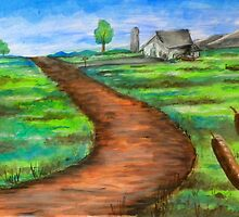 """""""The Dirt Road"""" by Steve Farr"""