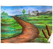 """""""The Dirt Road"""" Poster"""