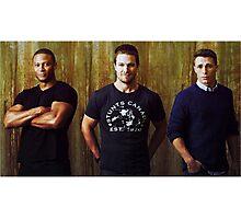 Diggle, Oliver and Roy | Arrow Season 2-3 | Team Arrow Photographic Print