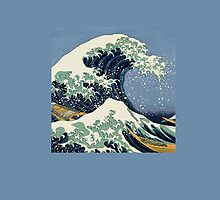 The Great Wave by Katsushika Hokusai by Greenbaby