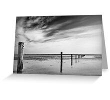 Tyrella Beach  - Co Down Northern Ireland Greeting Card