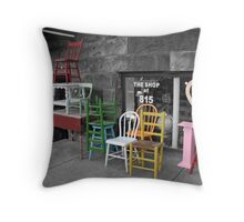 The Shop at 815 Throw Pillow