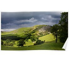 Bunster Hill Dovedale, The Peak District National Park Poster