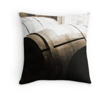 DK's Storage Shed Throw Pillow
