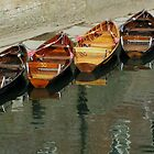 Row Boats by Carol Bleasdale