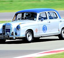 Mercedes Benz 220S by Willie Jackson