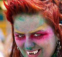 Portraits from The 2011 Coney Island Mermaid Parade-12 by alan shapiro