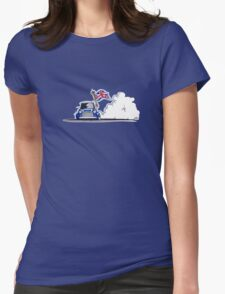 Mini 05 Sketch Womens Fitted T-Shirt