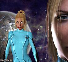 The Return of Zero Suit Samus Aran: Metroid Series by Junior Mclean