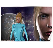 The Return of Zero Suit Samus Aran: Metroid Series Poster