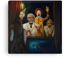 Fast Food Nightmare 4 Canvas Print