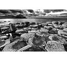 Giants Causeway - Co. Antrim, Northern Ireland. Photographic Print