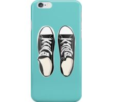 All You Need is Chucks - Turquoise iPhone Case/Skin