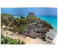 Gateway to the Mayan World Poster