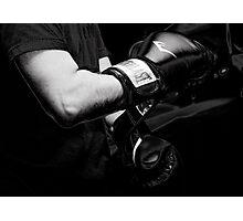 The Boxer Photographic Print