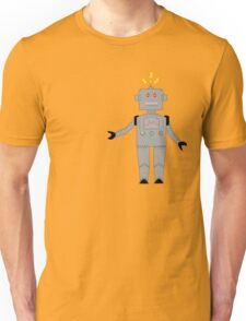 confused robot Unisex T-Shirt