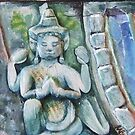 Angkor Gods (detail) by Bessie-Ray