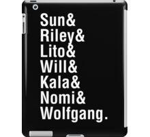 Helvetica8 iPad Case/Skin