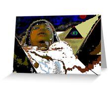 Embalmed Resurrection Greeting Card