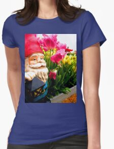 Garden Edge Gnome Womens Fitted T-Shirt